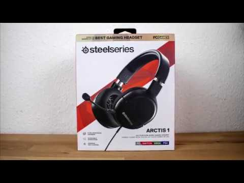 SteelSeries Arctis 1 Gaming-Headset Review inklusive Soundcheck / Mikrofontest