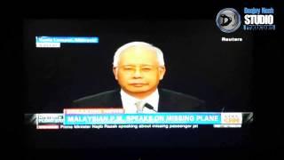 Gambar cover Flight MH370 ended in southern Indian Ocean, says Najib Razak