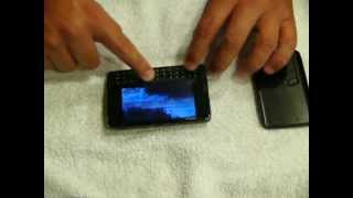 Example of Nokia N900 Touch Screen Not Responding