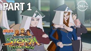 Naruto Shippuden: Ultimate Ninja Storm Revolution Walkthrough Part 1 World Tournament Gameplay