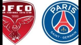 Dijon - psg (9ème journée de ligue 1 2017 - 2018)