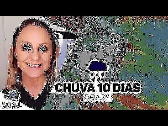 04/01/2021 - Previsão do tempo Brasil - Chuva 10 dias | METSUL