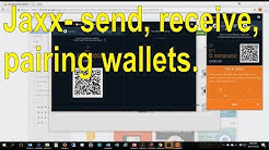 How to use Jaxx wallet - send, recieve, & shapeshift bitcoin, pair your wallet -detailed