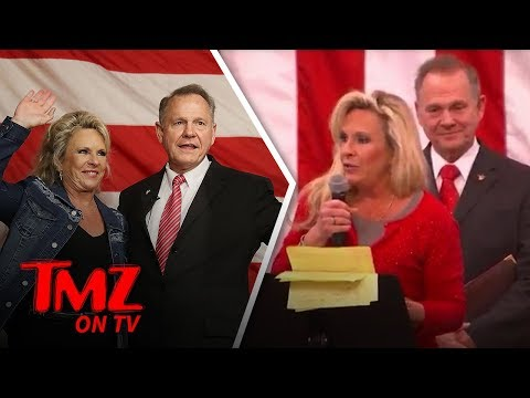 Roy Moore and His Wife Love Jewish People   TMZ TV