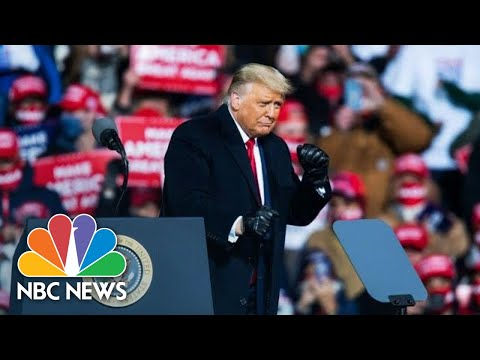 Live: Trump holds campaign rally in Iowa   NBC News