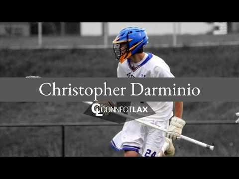 Christopher Darminio Lacrosse Highlights | MD 2019 | Def, LSM