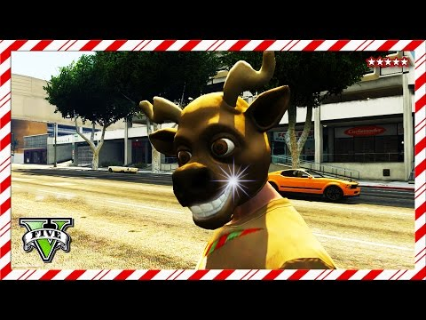 GTA 5 SANTA HUNT | 12 Days of Christmas | GTA V First Person Mini Games Funny Moments (GTA 5 Online)