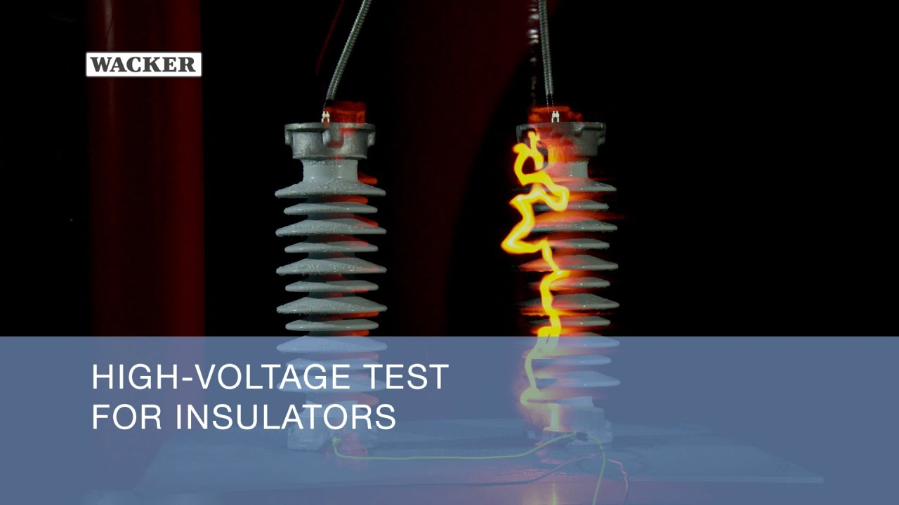 Overhead Voltage Tester : High voltage test for insulators youtube