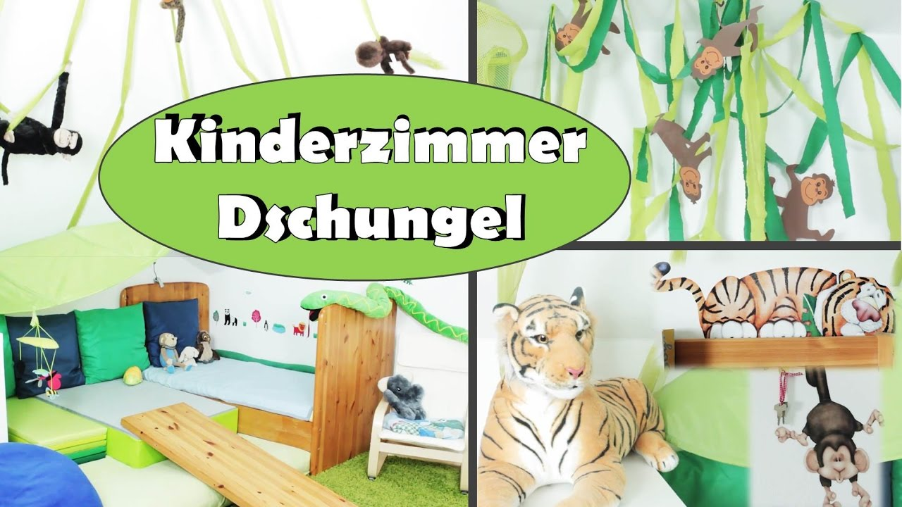 kinderzimmer dschungel roomtour babyzimmer. Black Bedroom Furniture Sets. Home Design Ideas