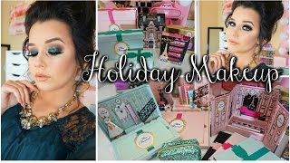 Get Ready With Me ♡ Holiday Makeup | Too Faced Holiday Collection 2015