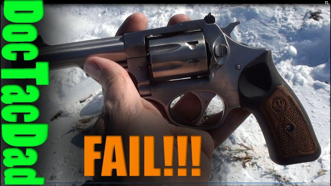 Fail Ruger Sp101 22lr