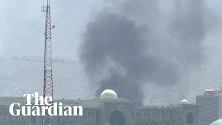 Blasts heard in Kabul during Afghan president's Eid speech