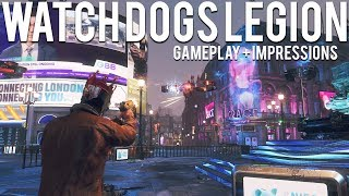 Watch Dogs Legion Gameplay + First Impressions