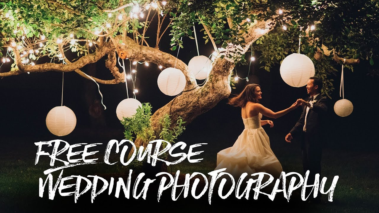 Wedding Photography Free Online Course 30 Days Of Videos Youtube