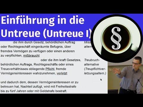 Einführung In Die Untreue (Untreue I)