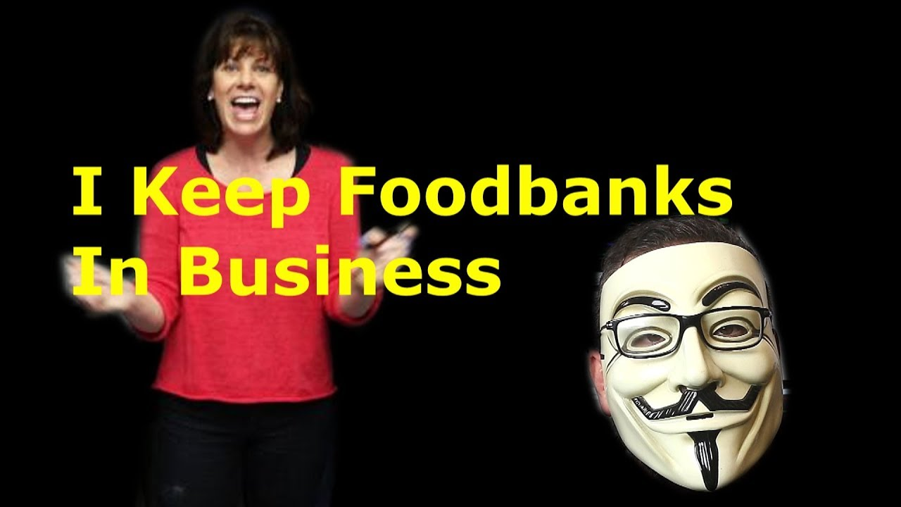 Tory Saves Foodbank After Voting To Create The Need For One