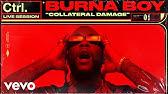 "Burna Boy - ""Collateral Damage"" Live Session | Vevo Ctrl"