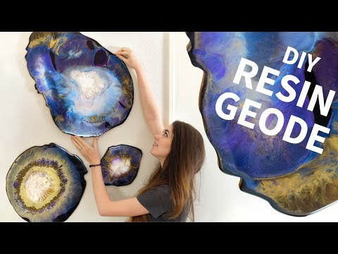 DIY Resin Geodes - Surprisingly Easy! from YouTube · Duration:  14 minutes 24 seconds