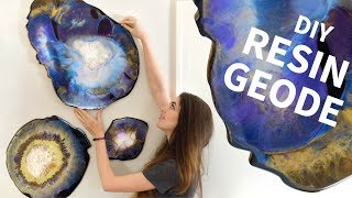 DIY Resin Geodes - Surprisingly Easy!