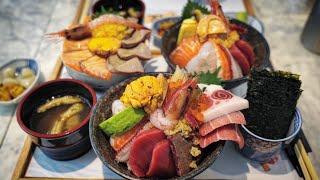 사람들이 줄 서서 먹는 해산물덮밥은 정말 맛있을까?