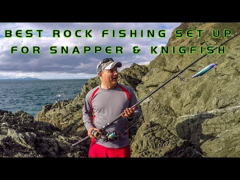 Favourite Snapper & Kingfish Rock Fishing Rig - The Stickbait Outfit
