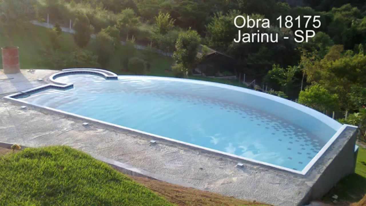Construindo uma piscina de concreto armado e azulejo - Cemento para piscinas ...