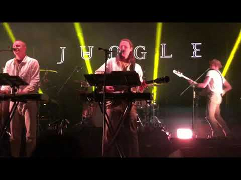 Jungle - Smile @ Auditorio BlackBerry, México City. 03/10/18