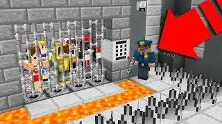 İMKANSIZ YOUTUBER HAPİSHANE'DEN KAÇIŞ! 😱 - Minecraft