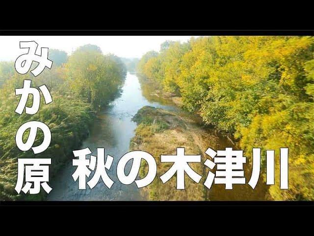 【みかの原・秋#154】「秋の木津川」空撮・たごてるよし_Aerial_TAGO channel