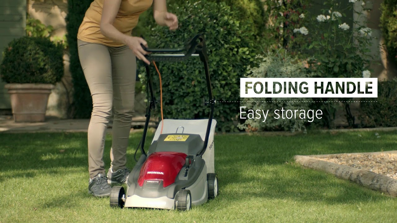 Discover Honda S Hre Electric Lawnmower Range