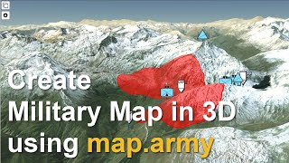 Military Maps in 3D screenshot 5