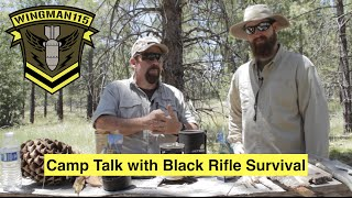 What Does It Mean To Be A Woodsman? -Camp Talk with Black Rifle Survival