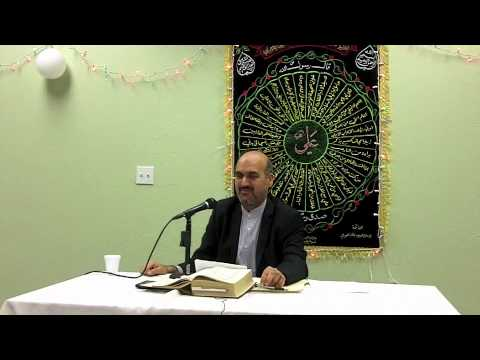 13 Rajab 1433, 3 June 2012 - Dr Ali Adibi - Farsi