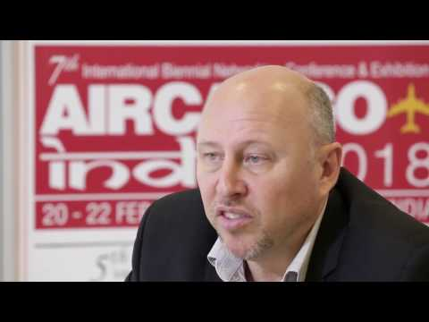 Glyn Hughes, Global Head of Cargo, IATA, speaks to STAT Trade Times at ACA 2017