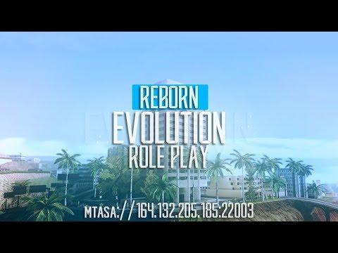 Стрим на Evolution Reborn Roleplay #0