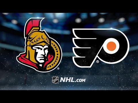 Ottawa Senators Vs. Philadelphia Flyers | NHL Game Recap | March 28, 2017