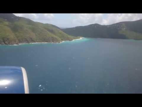 Aerial footage of St. Thomas US Virgin Islands