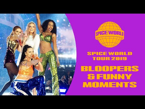 Spice Girls - Spice World Tour 2019 Bloopers & Funny Moments