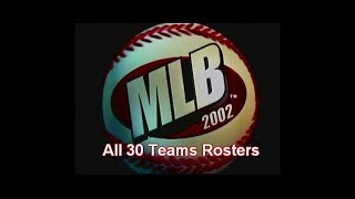 MLB 2002 (PS1) All 30 Teams Rosters - [viewer request]