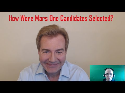 How Were Mars One Candidates Selected?