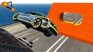 BeamNG.drive - Impossible Car Stunts #6
