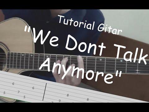 Belajar Gitar (We Dont Talk Anymore - Charlie Puth ft Selena Gomez)
