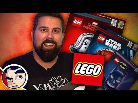 SDCC LEGO Set Build Race! | Comicstorian
