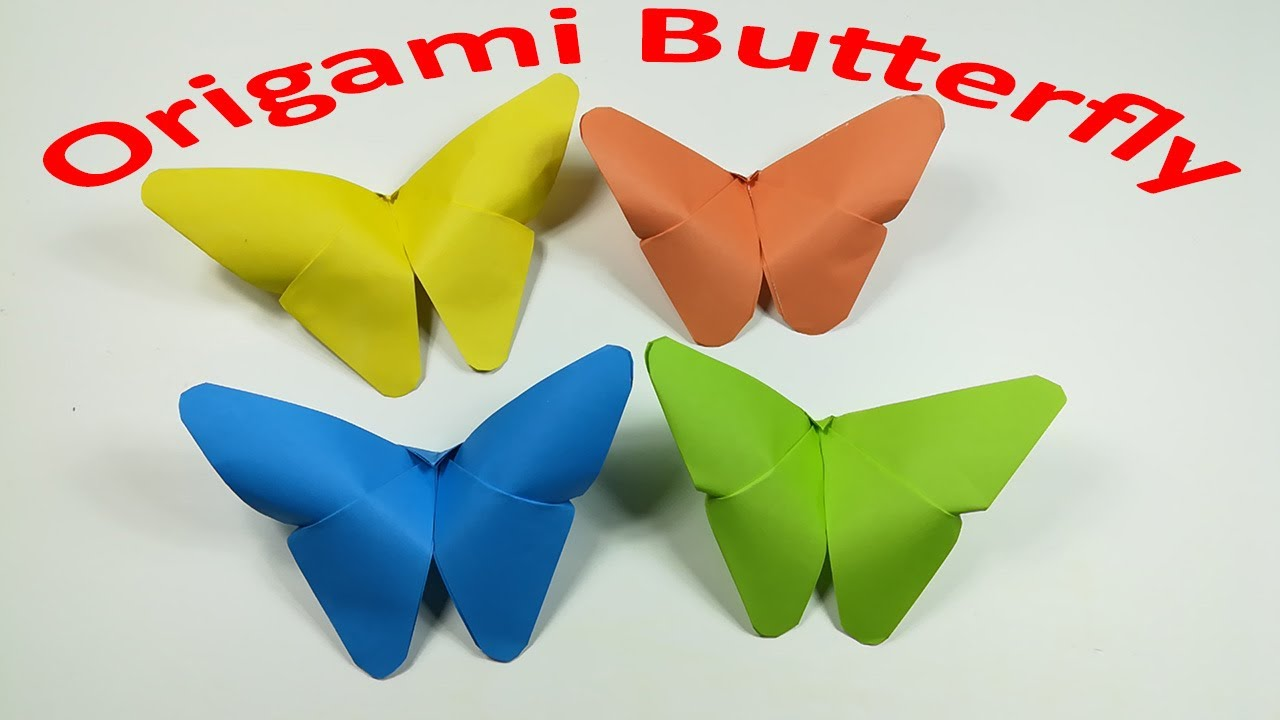 How to Fold an Easy Origami Butterfly - The Traditional Origami ...   720x1280