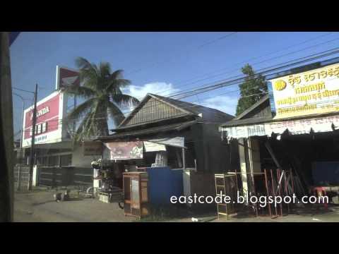 Kampong Thom city Central Cambodia