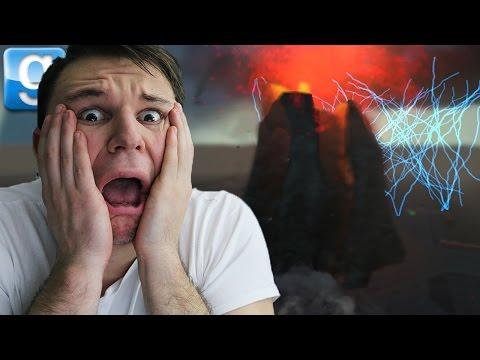 CRAZY ERUPTING VOLCANO!! | Gmod Sandbox Fun