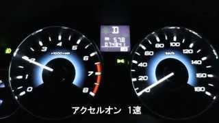レガシィB4 2.5GT (BM9) 0~180km/h フル加速   おまけつき