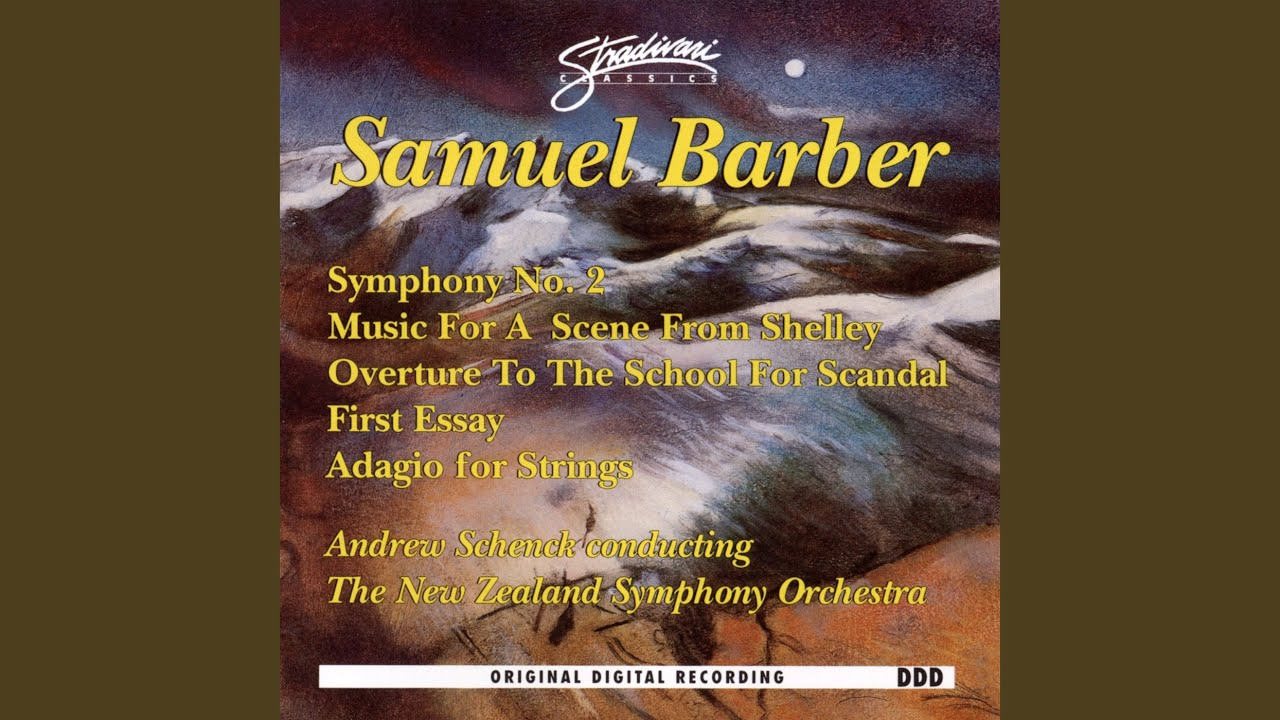 1 adagio barber essay no scandal school symphony Analysis essay music uk: #1: barber: adagio for no 1 great essays of a school building chicago black sox scandal research.