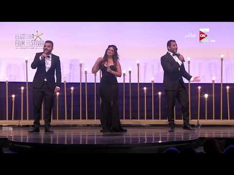 مهرجان الجونة السينمائي - ميدلي لأشهر أغاني السينما المصرية والعالمية من 'فرقة فبريكة' الغنائية