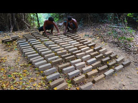 Primitive Tool : Make Mud Bricks